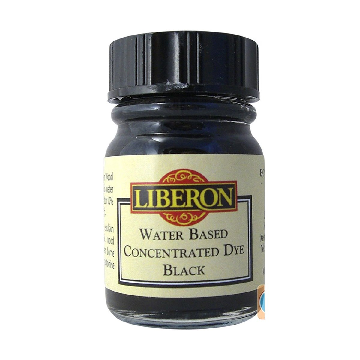 Liberon Water Based Concentrated Dye Black