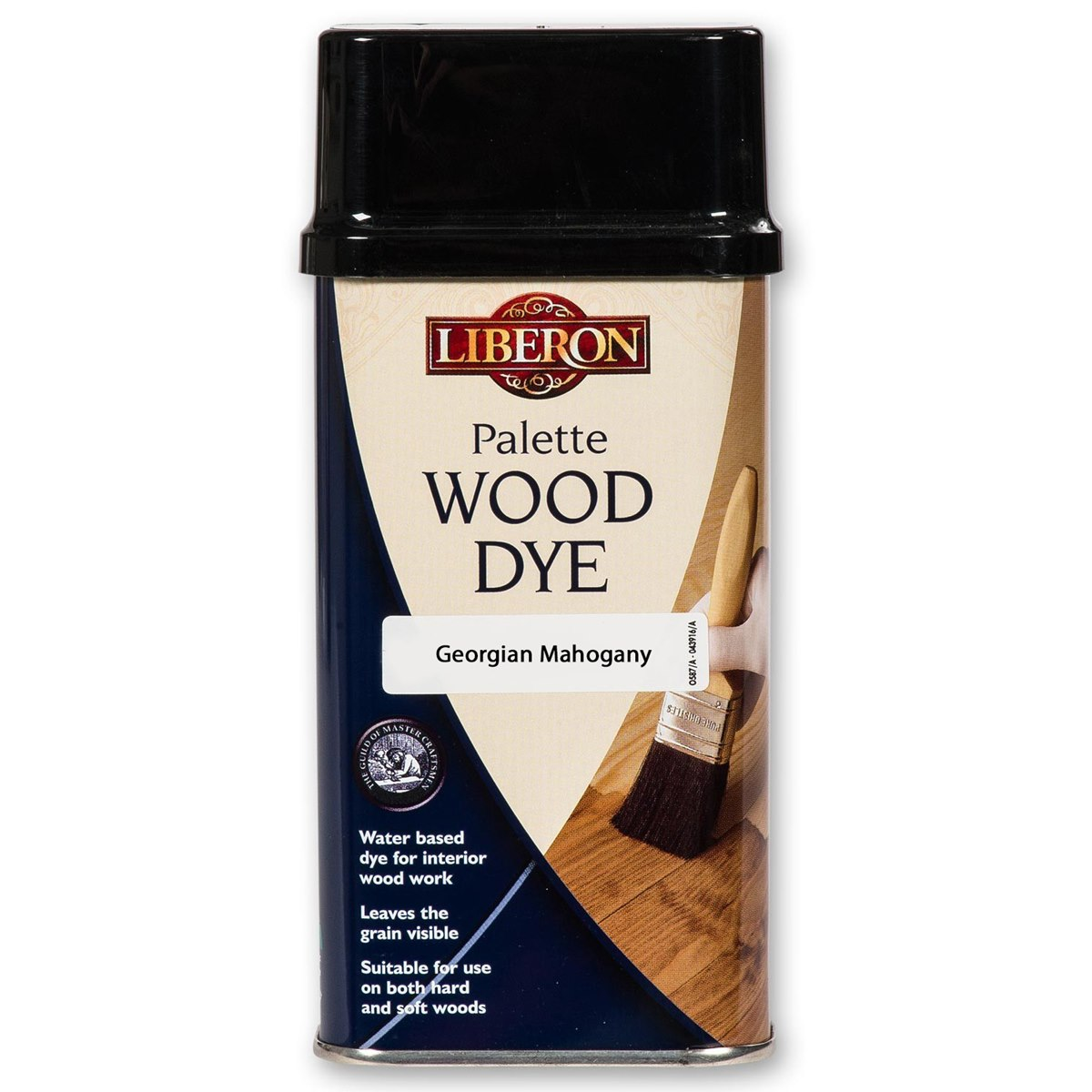 Liberon Palette Wood Dye Georgian Mahogany 250ml