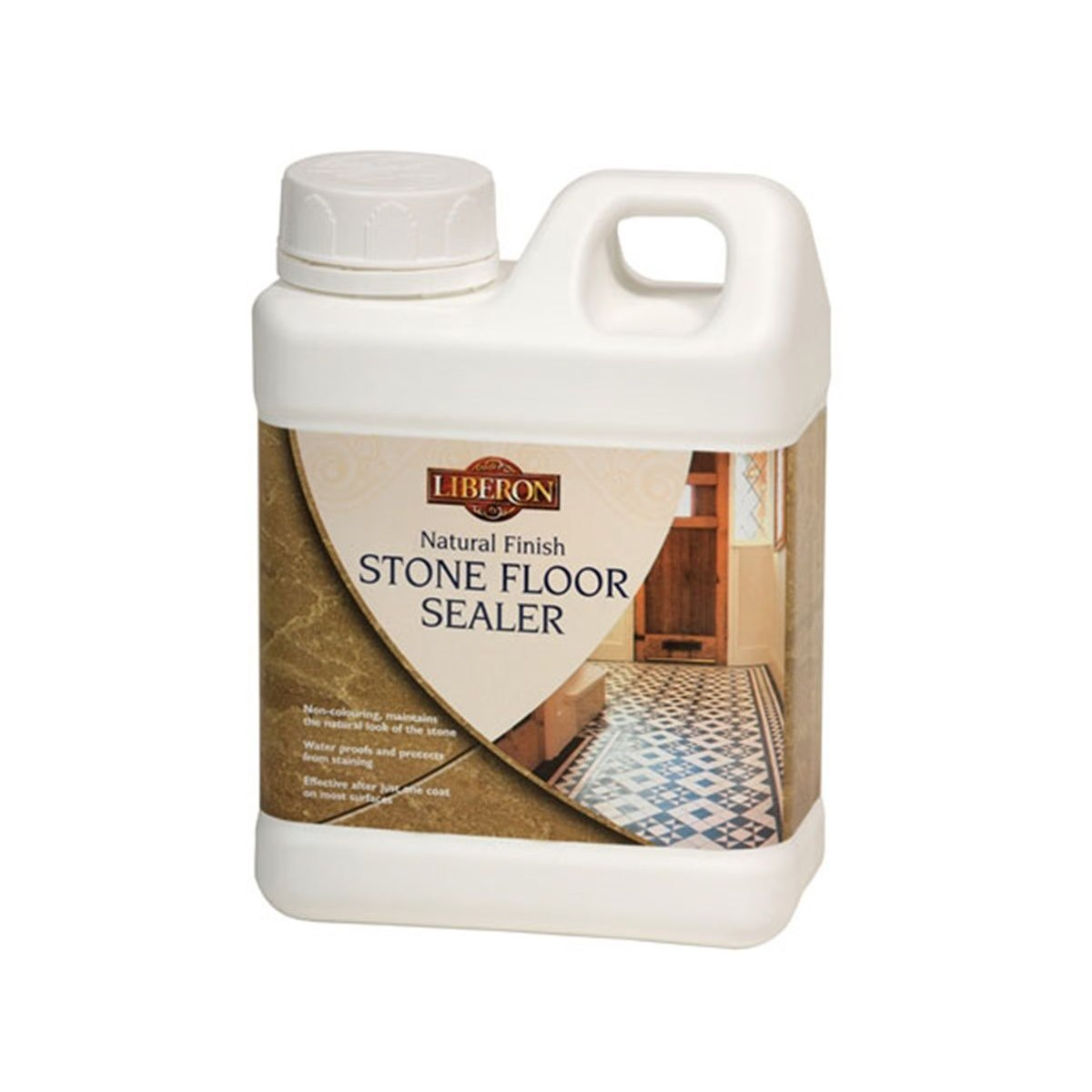 Liberon Natural Finish Stone Floor Sealer 1 Litre