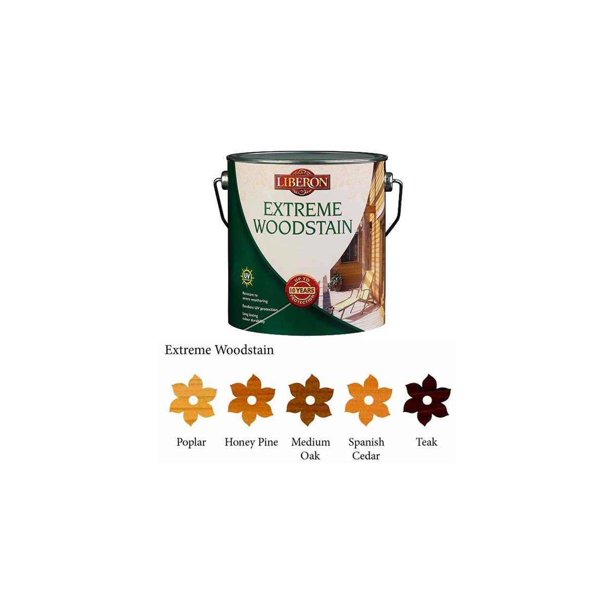 Liberon Extreme Woodstain Honey Pine 2.5 Litre