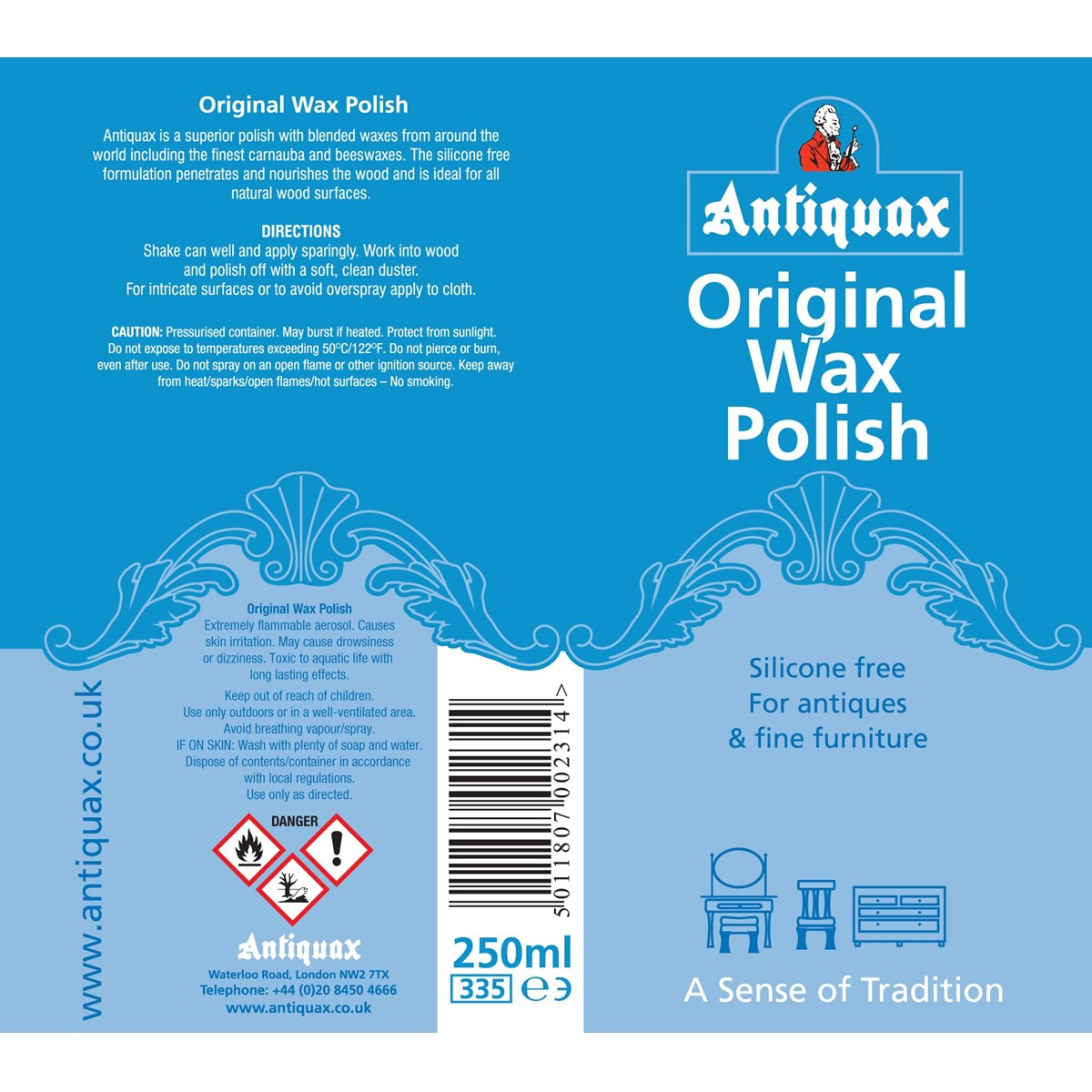 Where to buy Antiquax Original Wax Polish