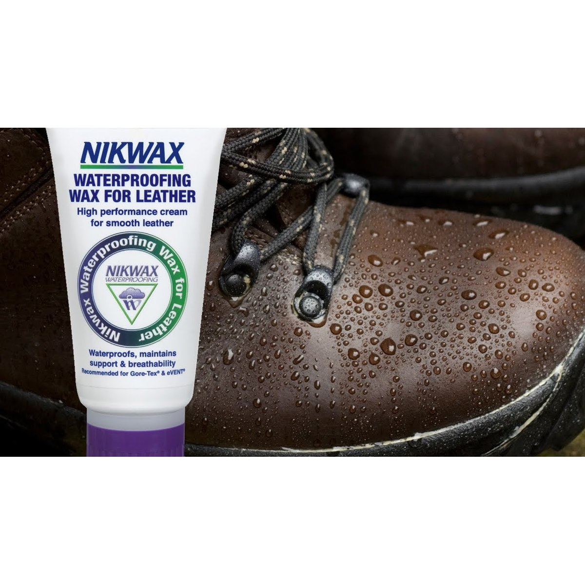 Nikwax Waterproofing Wax for Smooth Leather