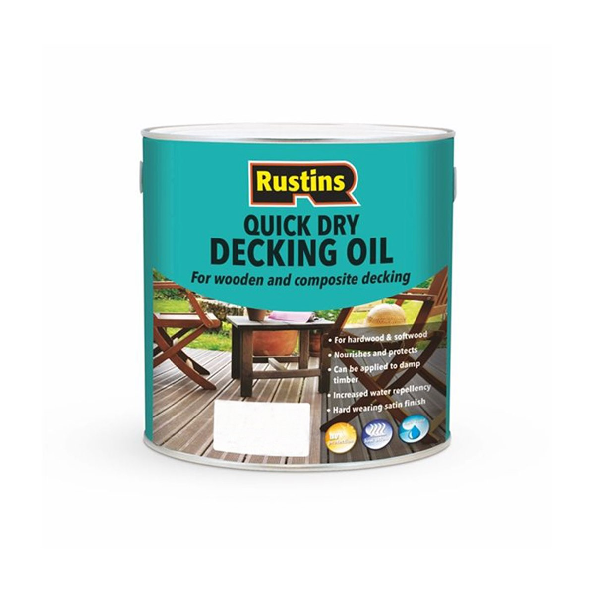 Rustins Quick Dry Decking Oil