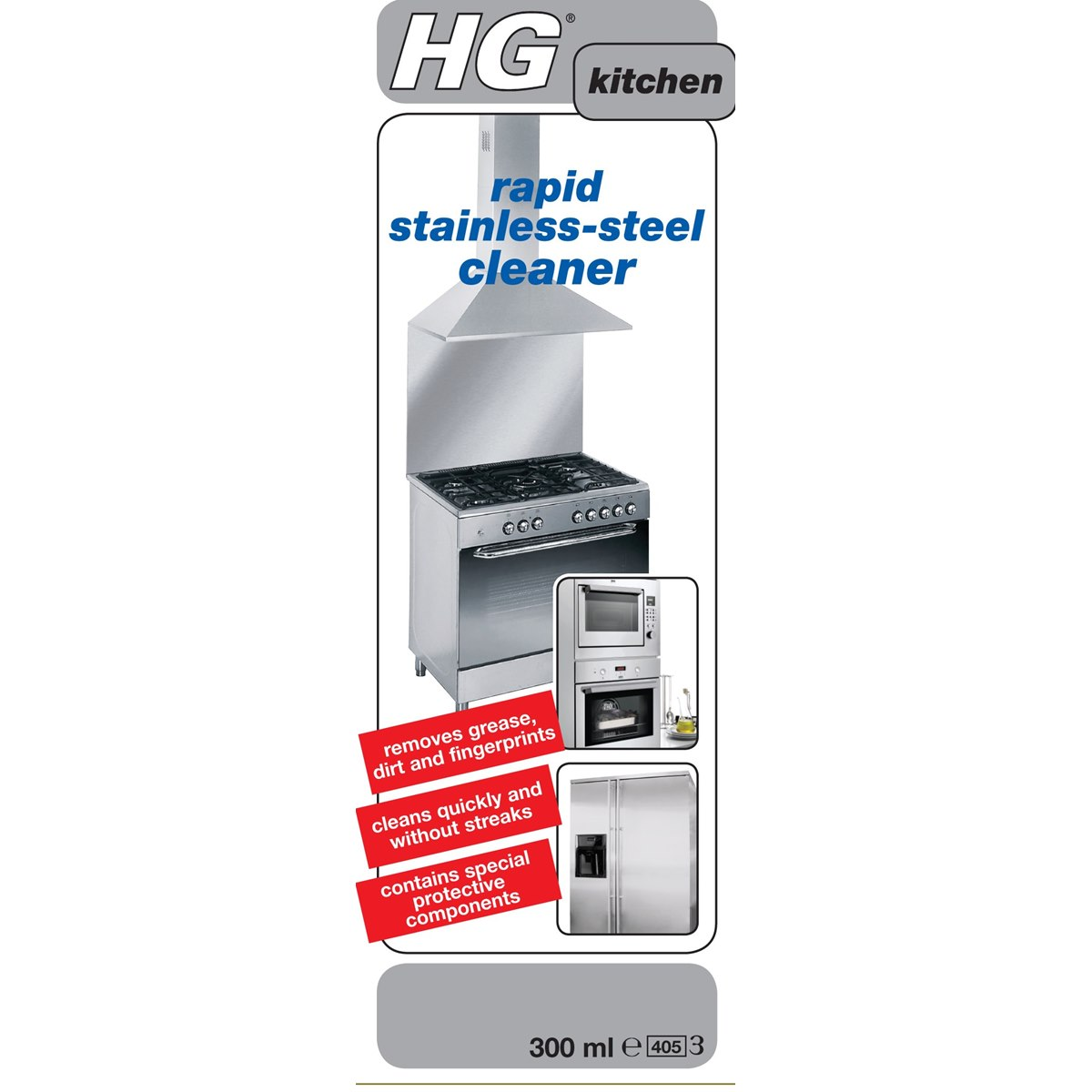 Where to buy HG Rapid Stainless Steel Cleaner