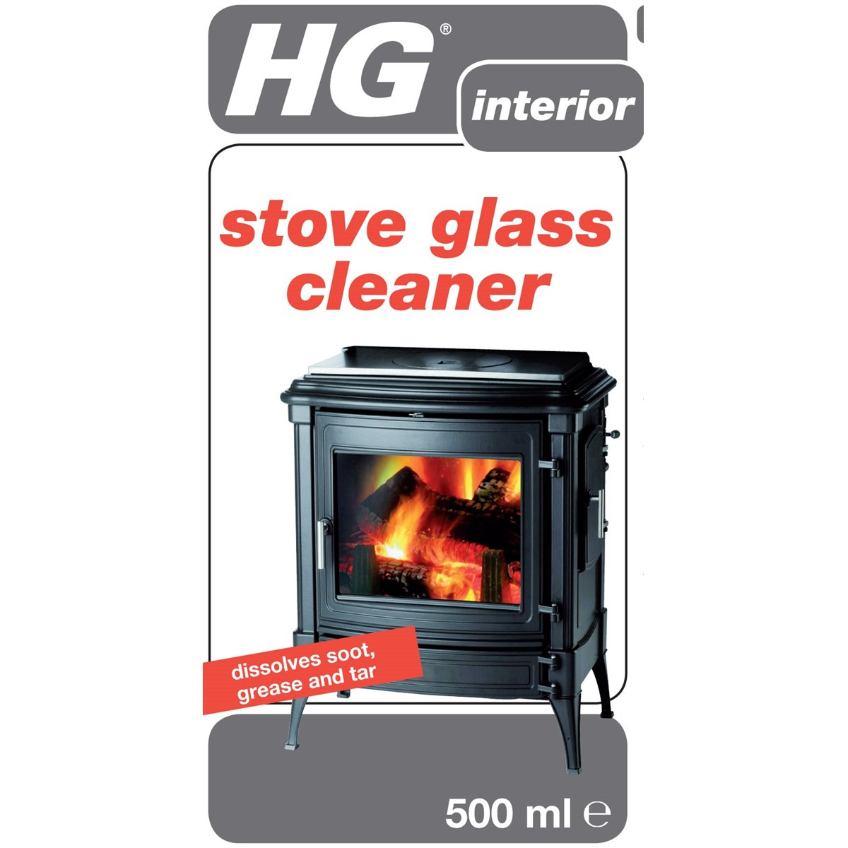 HG Stove Glass Cleaner Spray
