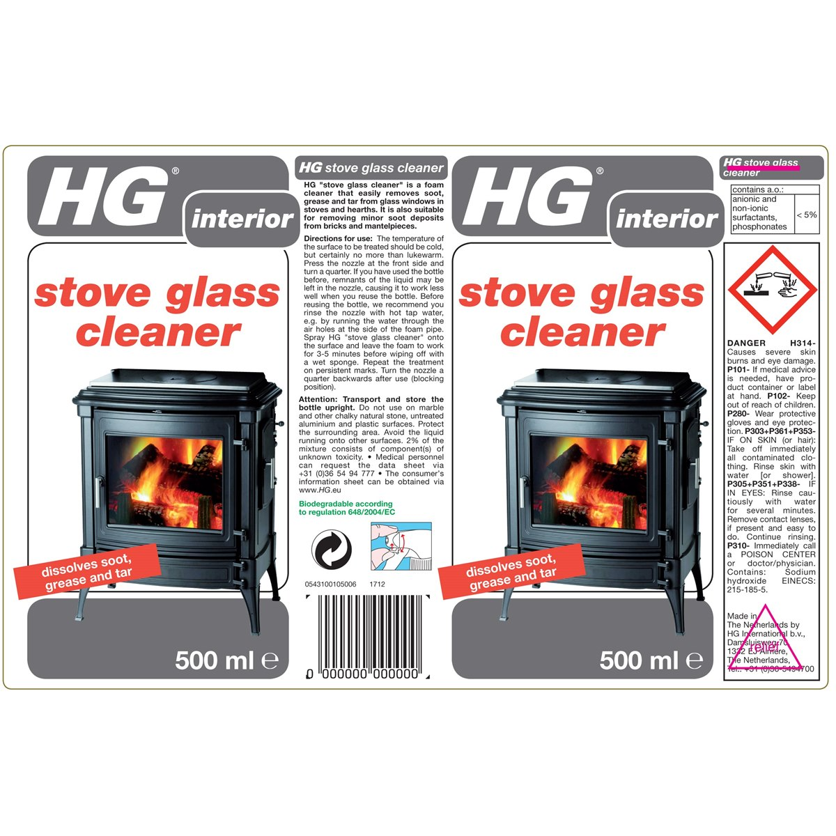 How to Use HG Stove Glass Cleaner
