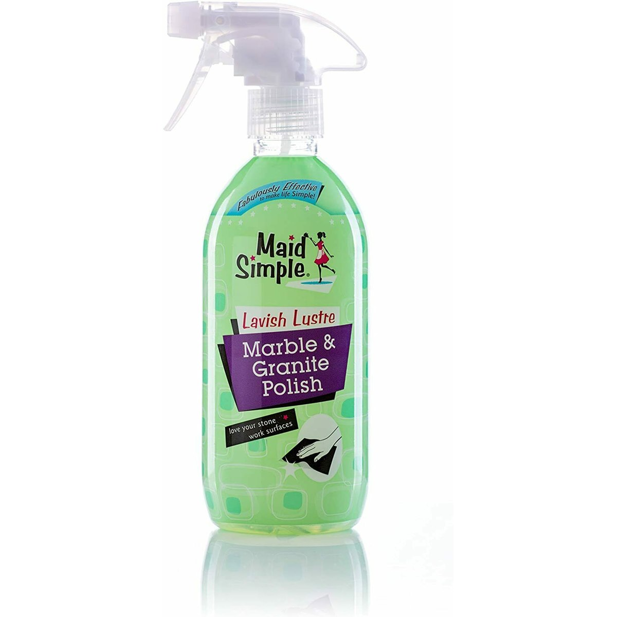 Maid Simple Marble and Granite Polish Spray 500ml