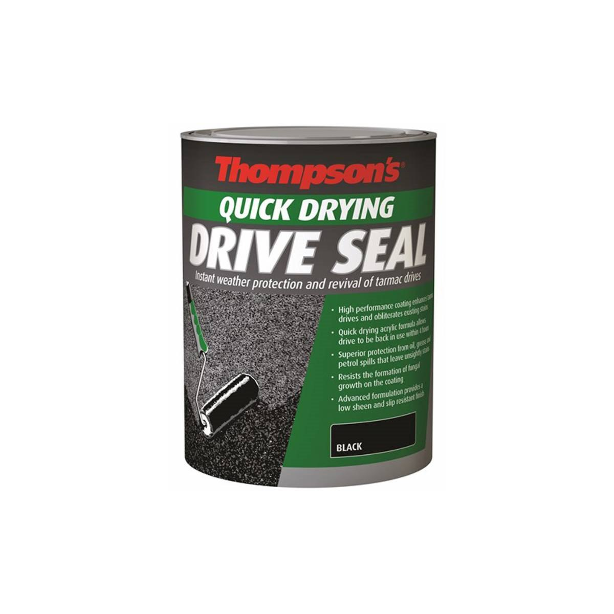 Thompson's Quick Drying Tarmac Drive Seal 5 litre