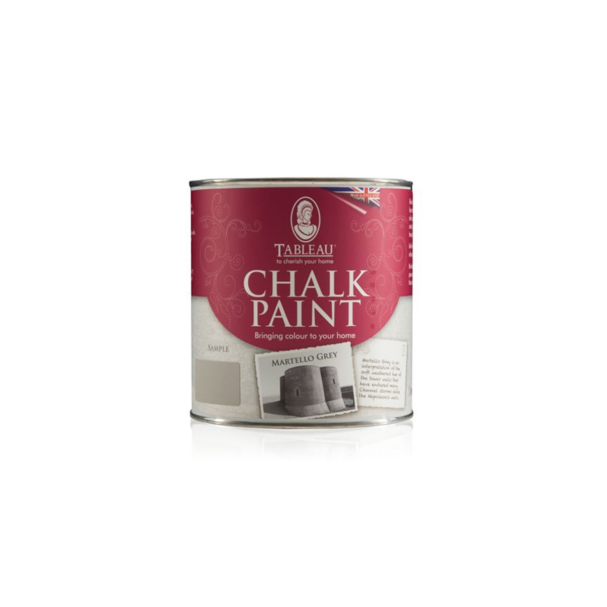 Tableau Chalk Paint Martello Grey 500ml