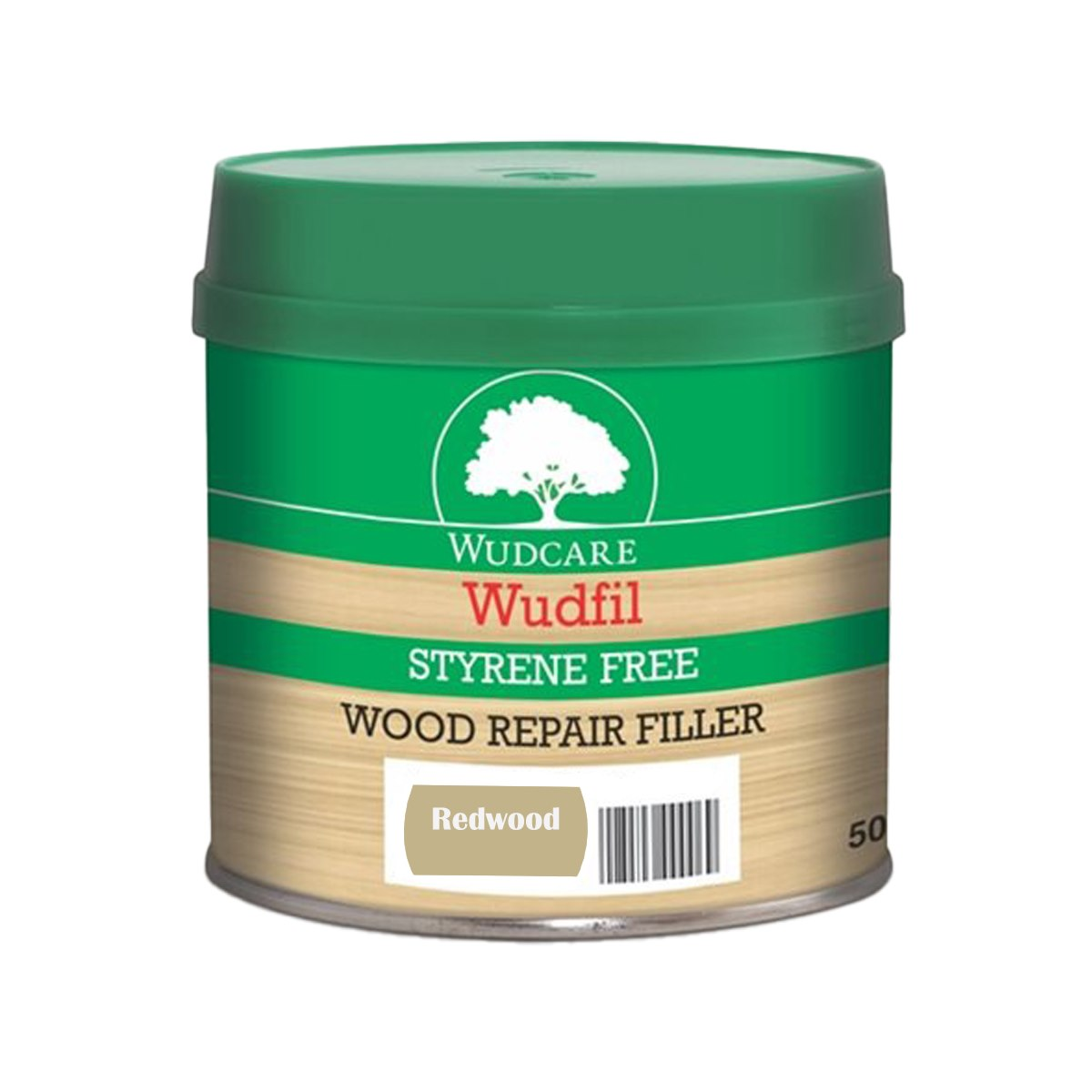 Wudcare Styrene Free Easy Stain Wudfil Wood Repair Filler Paste Redwood 500ml